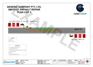TrafficPOWER - Example Traffic Control Plan